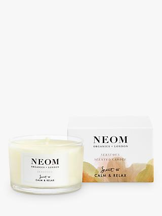 Neom Organics London Sensuous Travel Scented Candle