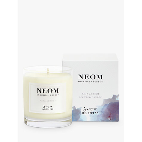 Buy Neom Organics London Real Luxury Standard Candle Online at johnlewis.com