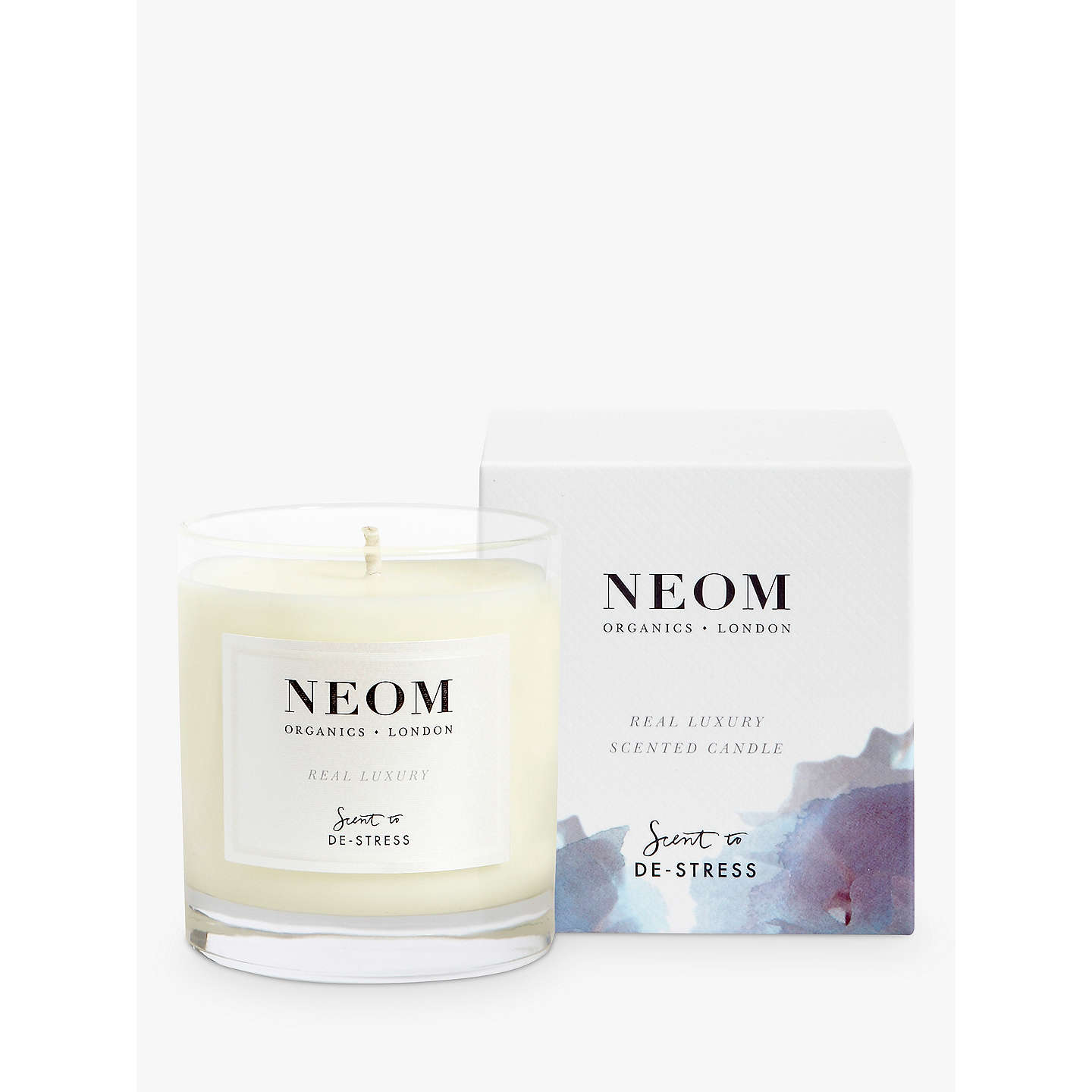 BuyNeom Organics London Real Luxury Standard Candle Online at johnlewis.com