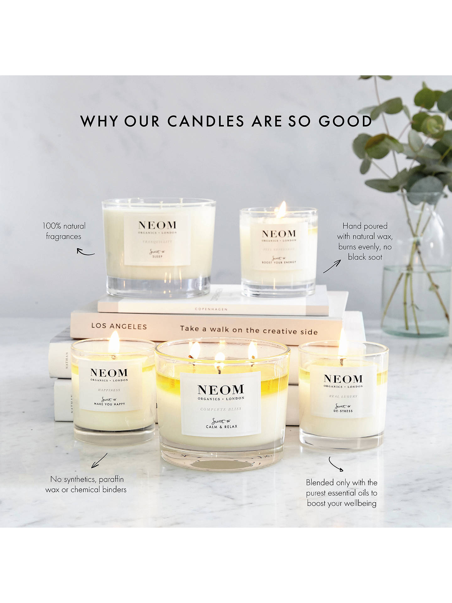 Buy Neom Organics London Real Luxury Standard Scented Candle Online at johnlewis.com