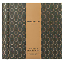 Buy Wedgwood Addresses and Birthdays Book Online at johnlewis.com