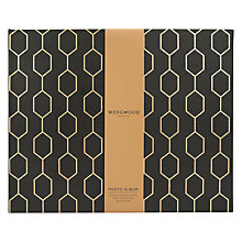 Buy Wedgwood Photo Album, Black Online at johnlewis.com