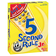 Buy 5 Second Rule Junior Game Online at johnlewis.com