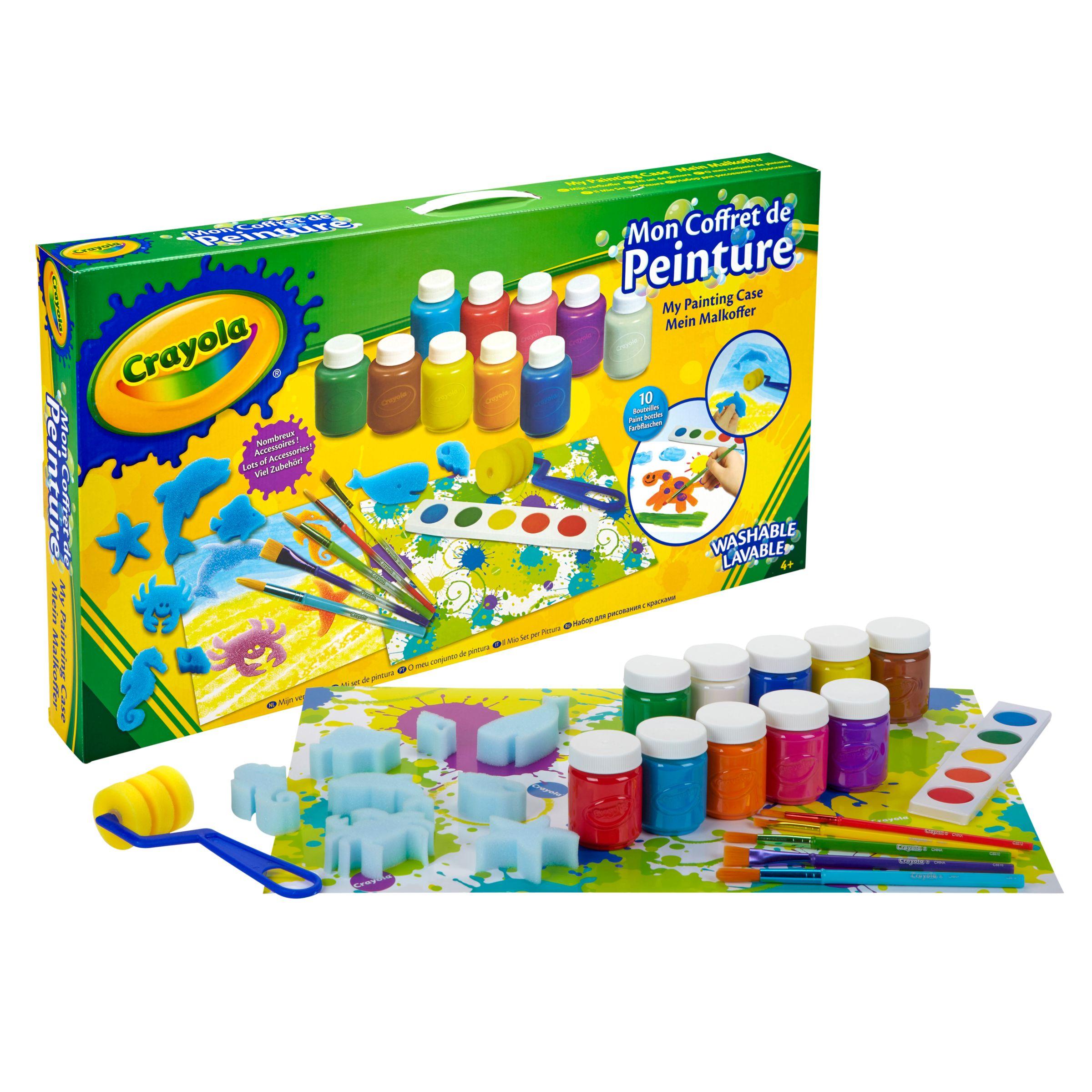 Crayola Crayola My Painting Case Kit