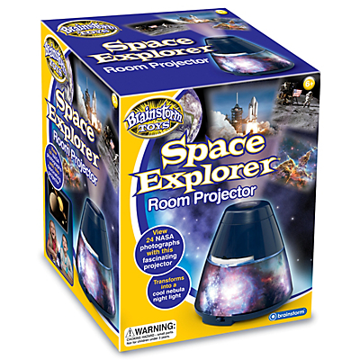 Image of Brainstorm Space Explorer Room Projector