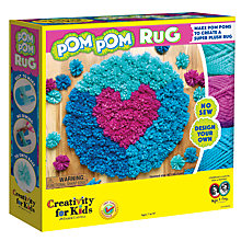 Buy Creativity for Kids Pom Pom Rug Kit Online at johnlewis.com