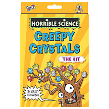 Buy Horrible Science Creepy Crystals Kit Online at johnlewis.com