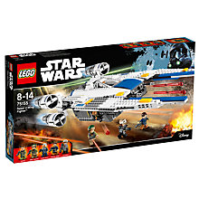 Buy LEGO Star Wars Rogue One 75155 Rebel U-Wing Fighter Online at johnlewis.com