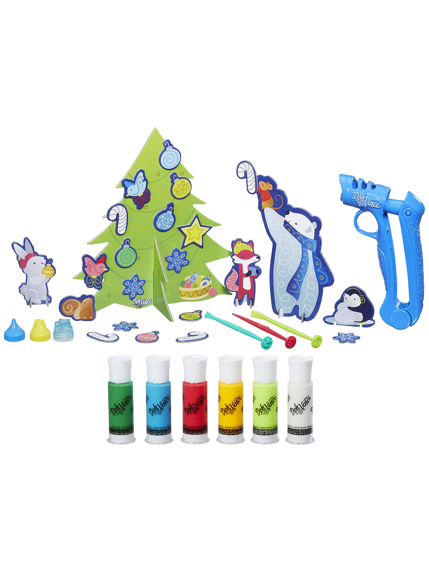 BuyPlay-Doh Doh Vinci Squeeze and Design Advent Calendar Online at johnlewis.com