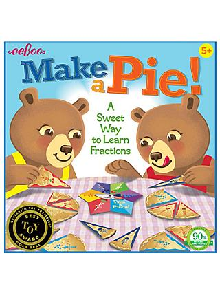 eeBoo Make a Pie! Game