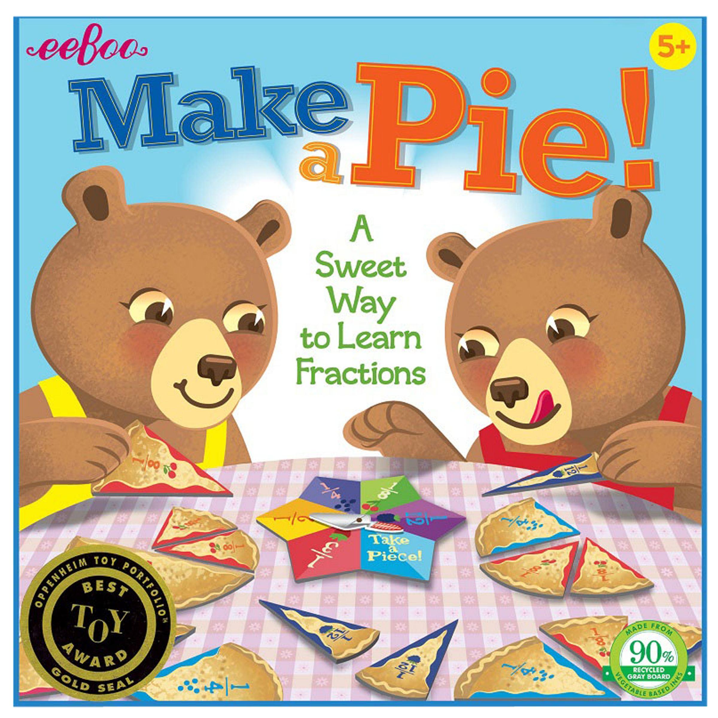 Eeboo eeBoo Make a Pie! Game