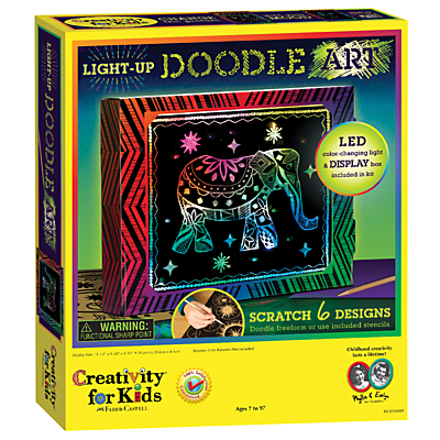Creativity for Kids Light Up Doodle Art