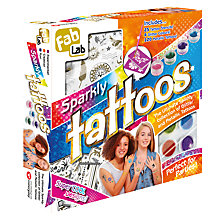 Buy FabLab Sparkle Tattoos Kit Online at johnlewis.com