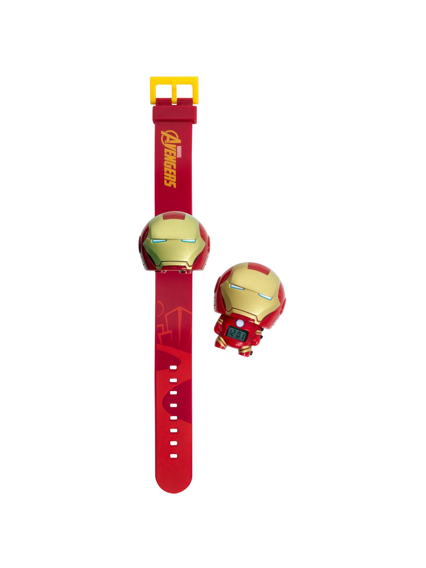 6b7c03c8f2dd Buy BulbBotz Iron Man Watch Online at johnlewis.com ...