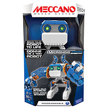 Buy Meccano Micronoid Basher Set Online at johnlewis.com