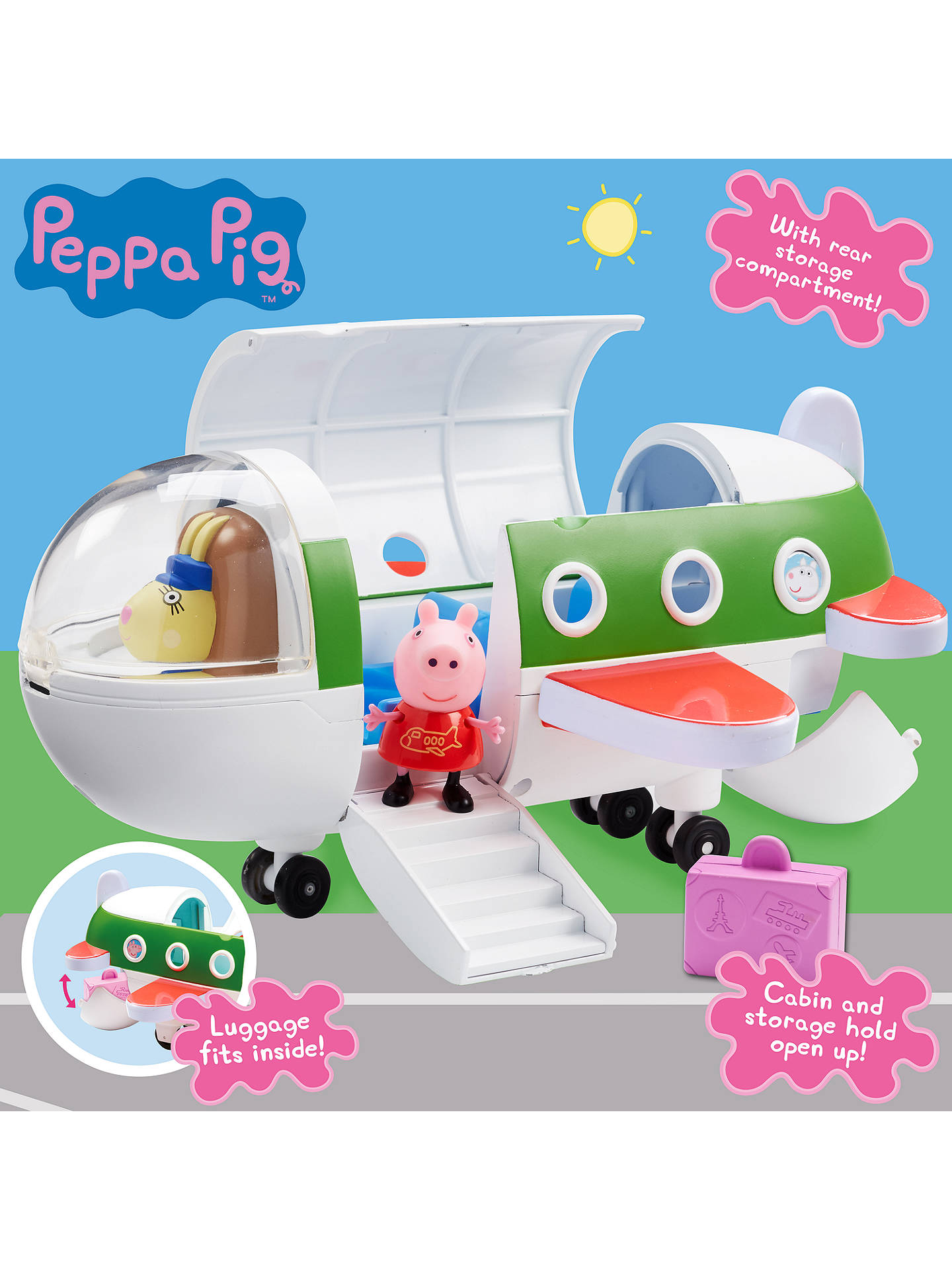 BuyPeppa Pig Air Peppa Jet Online at johnlewis.com