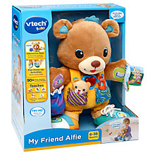 Buy VTech Baby My Friend Alfie Furry Toy Online at johnlewis.com