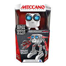 Buy Meccano Micronoid Socket Set Online at johnlewis.com