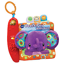 Buy VTech Baby Peek & Play Electronic Baby Book Online at johnlewis.com
