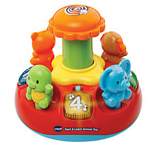 Buy VTech Baby Push and Play Animal Spinning Top Online at johnlewis.com