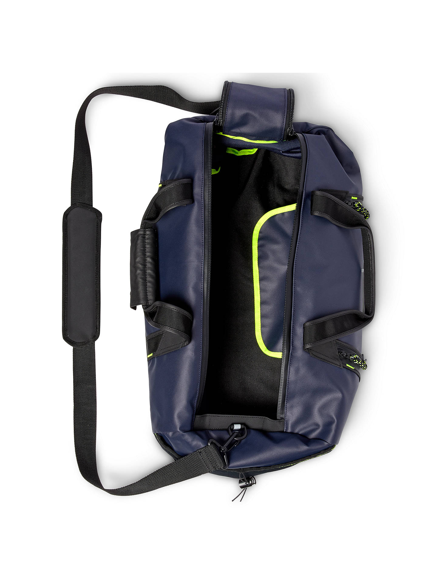 140f2a00447 BuyPolo Golf by Ralph Lauren RLX Water Resistant Duffel Bag, Navy Online at  johnlewis.