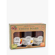 Buy Cottage Delight 'Take Me To The Cheeseboard' Chutneys, Set of 3 Online at johnlewis.com