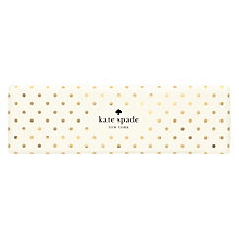 Buy kate spade new york Ballpoint Pen, Cream / Gold Online at johnlewis.com