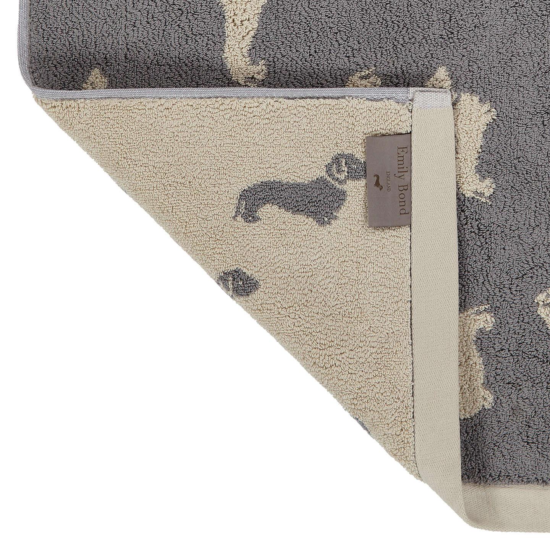 Buyemily Bond Dachshund Bath Mat, Grey Online At Johnlewiscom