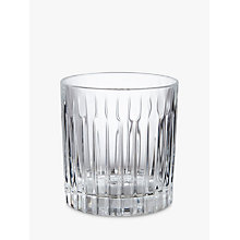 Buy John Lewis Paloma Timeless Double Old Fashioned Crystal Glass Tumbler, Clear Online at johnlewis.com