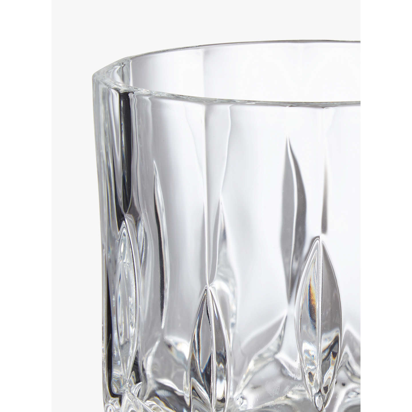 BuyJohn Lewis Paloma Opera Double Old Fashioned Crystal Glass Tumbler Online at johnlewis.com