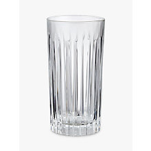Buy John Lewis Paloma Timeless Crystal Glass Highball, Clear Online at johnlewis.com