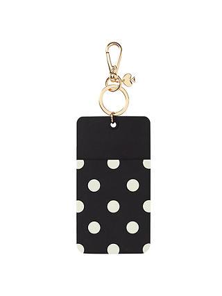 Kate Spade NEW Black Polka Dot ID Travel Card Holder