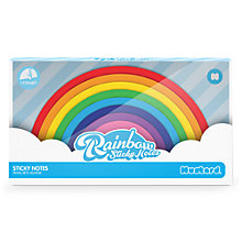 Buy Mustard Rainbow Sticky Notes Online at johnlewis.com