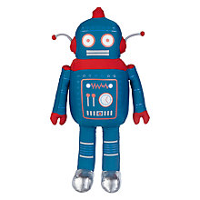 Buy little home at John Lewis Eric Robot Soft Cushion Toy Online at johnlewis.com