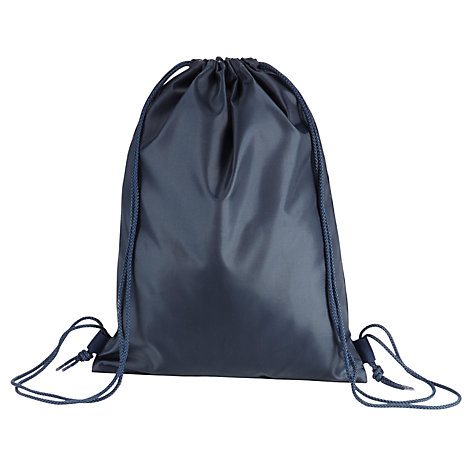 Buy School Drawstring Gym Bag | John Lewis