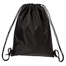 Buy John Lewis School Gym Bag, Black Online at johnlewis.com
