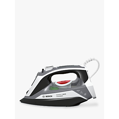 Bosch Sensixxx DA70 Easycomfort Steam Iron, Grey