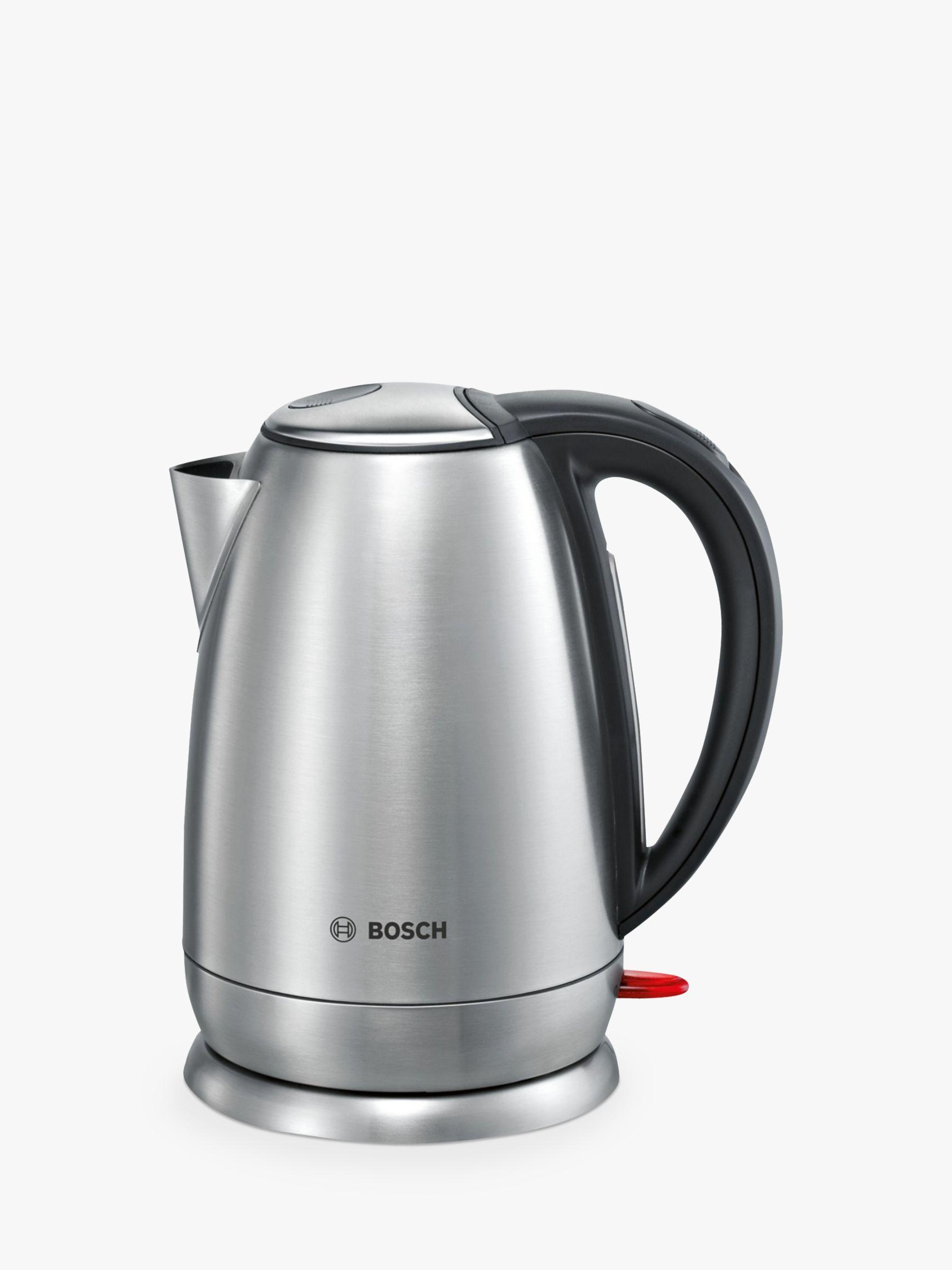 Stainless Steel Kettle ~ Bosch town twk a gb stainless steel kettle bluewater