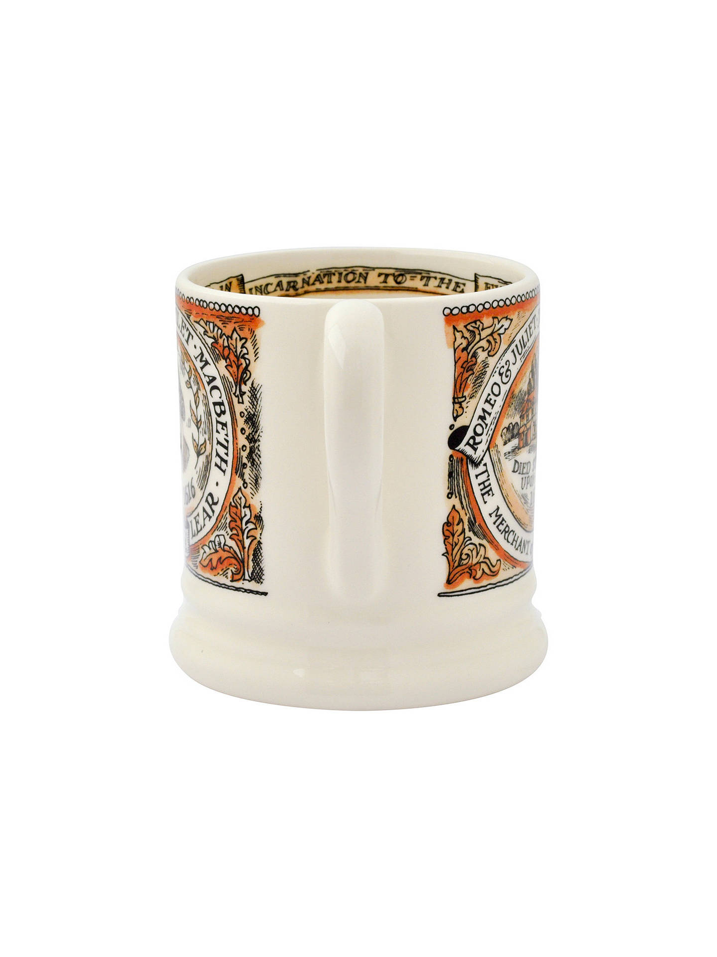 BuyEmma Bridgewater Year In The Country Shakespeare Half Pint Mug Online at johnlewis.com