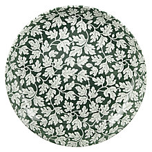 Buy Spode Ruskin House Serve Bowl, Dia.30cm, Green / White Online at johnlewis.com