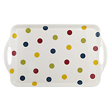 Buy John Lewis Bright Spot Rectangular Tray, Large Online at johnlewis.com