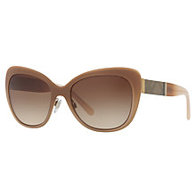 Buy Burberry BE3088 Cat's Eye Sunglasses Online at johnlewis.com