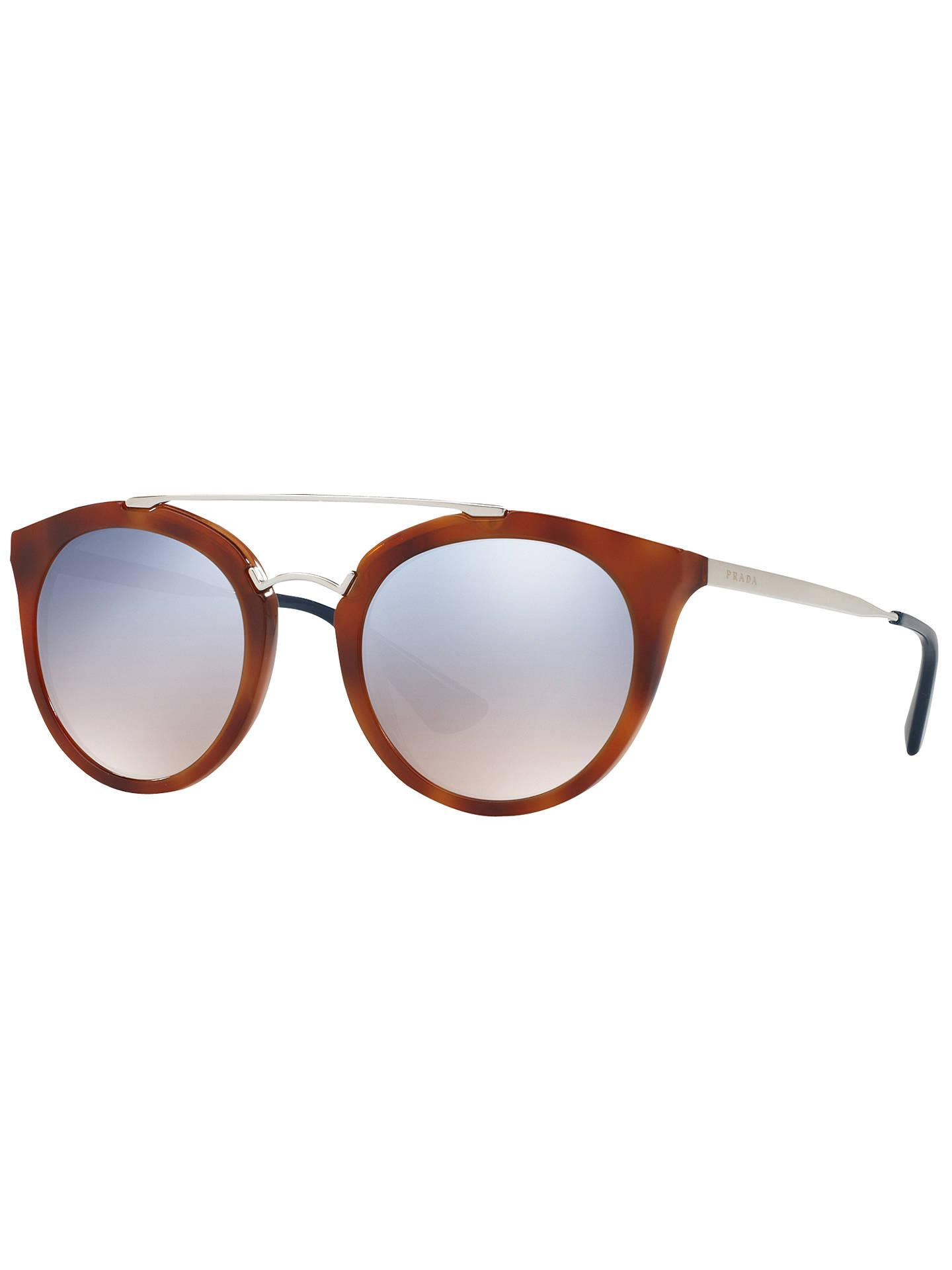 3d224c43f20a Buy Prada PR 23SS Cinema Oval Sunglasses, Brown Online at johnlewis.com ...