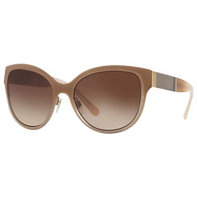Burberry BE3087 Oval Sunglasses