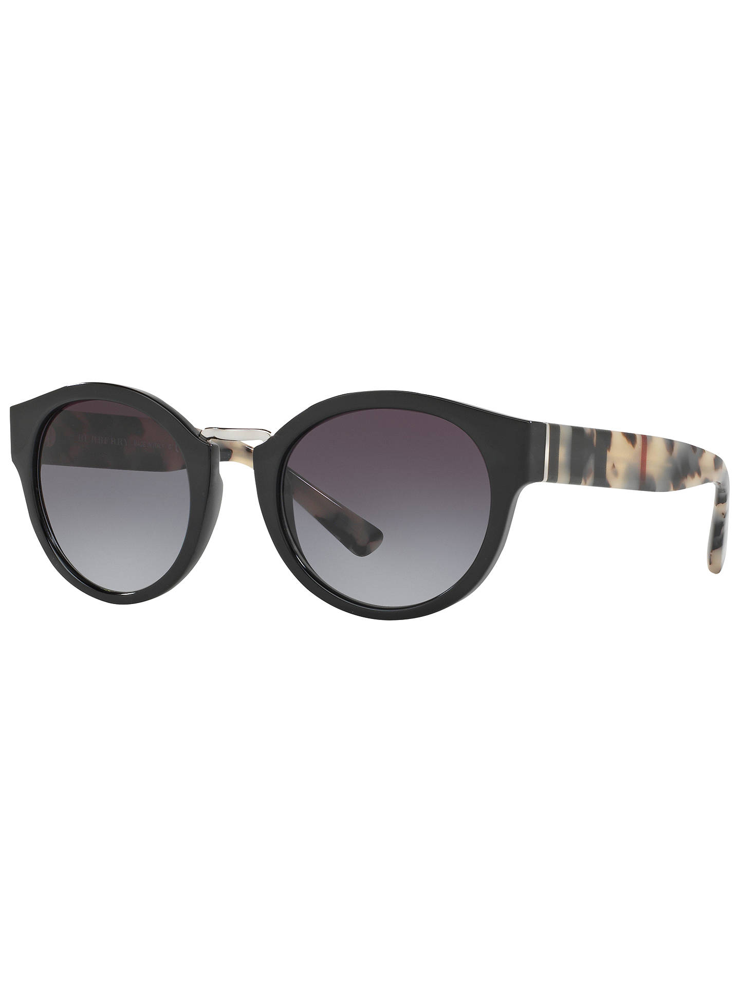 527a377f0f9 Buy Burberry BE4227 Oval Sunglasses Online at johnlewis.com ...