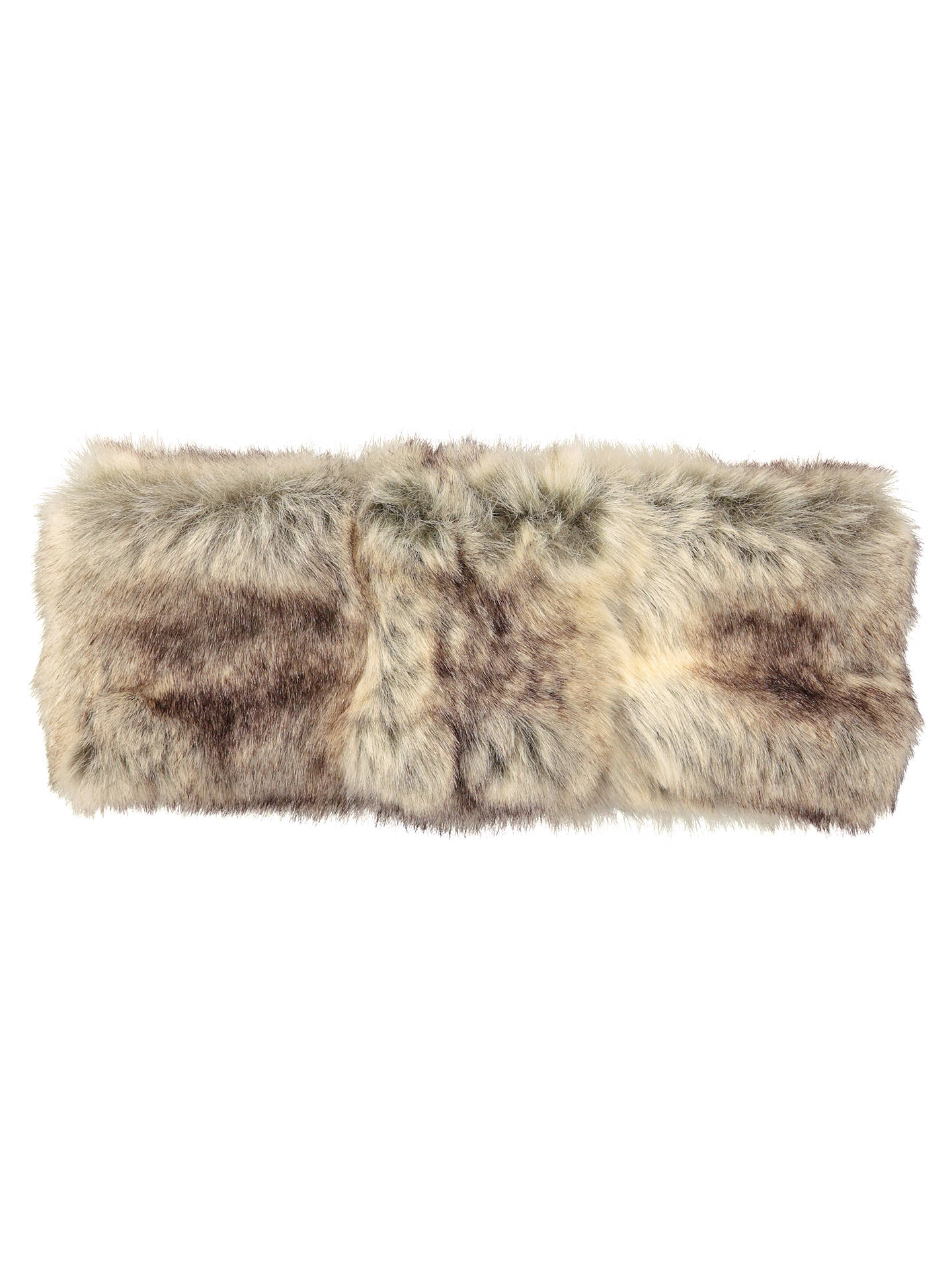 BuyBarts Faux Fur Headband, One Size, Brown Online at johnlewis.com