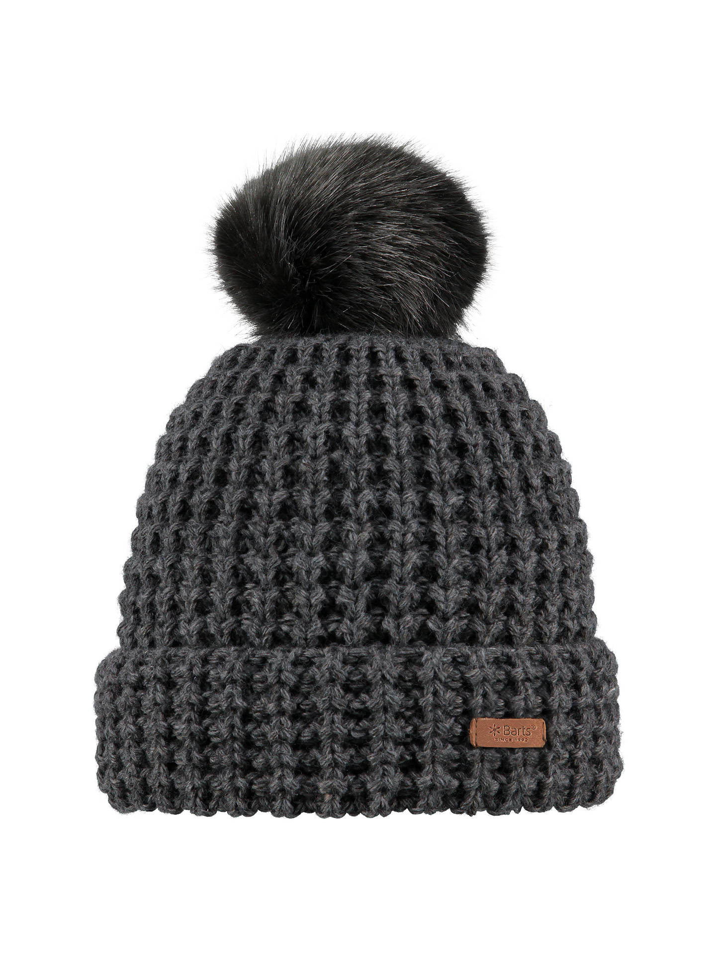 sale retailer best sell buy sale Barts Bonnie Beanie Hat, One Size, Dark Grey Heather