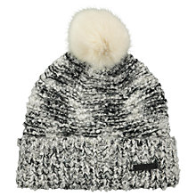 Buy Barts Siret Beanie, One Size, Black/White Online at johnlewis.com
