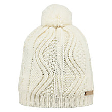 Buy Barts Speke Beanie Hat, One Size, White Online at johnlewis.com