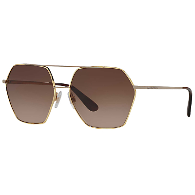 Dolce & Gabbana DG2157 Hexagonal Sunglasses